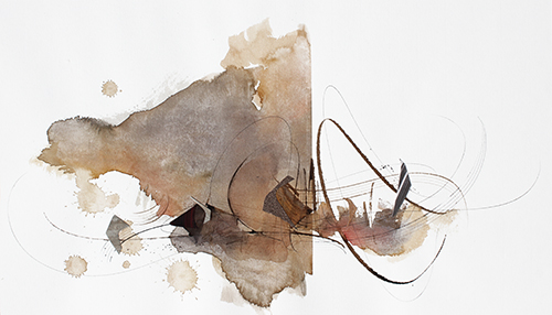 2017-475228 x 48 cmAquarelle, brou sur papier
