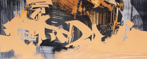 2020-997920 x 45 cmGouache, encre de Chine, pigments sur papier