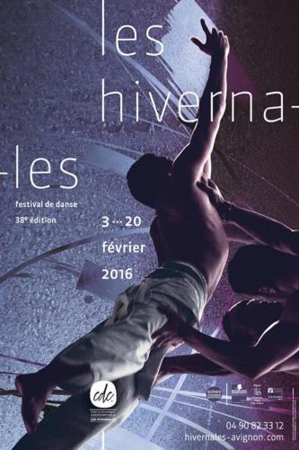 HIVERNALES #38 DESIGN GRAPHIQUE ROUGE ITALIQU  / CALLIGRAPHIE MORGANE FAY / PHOTO YOANN GUILOU . CIE HERVE KOUBI
